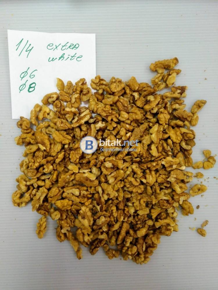 Приемаме поръчки за орехови ядки реколта 2018г.