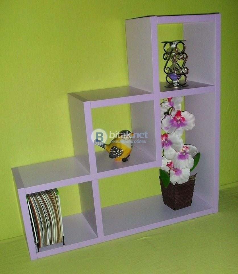 Етажерка за стена - Лилава