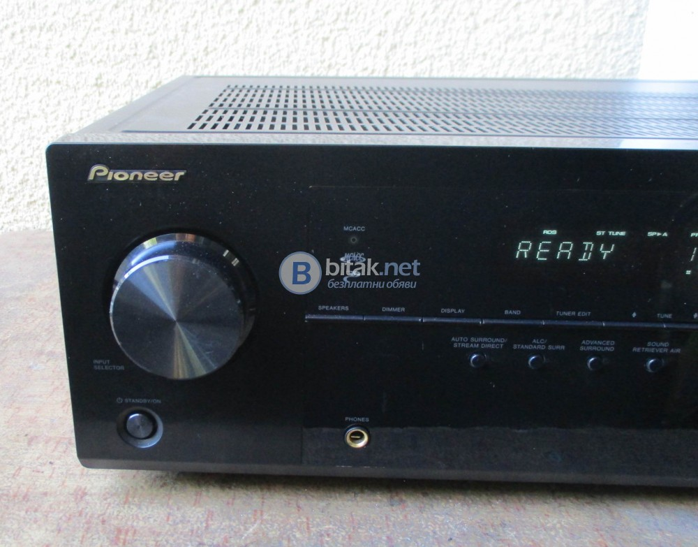 PIONEER VSX-521K – 5.1-Channel 3D Ready, HDMI AV Receiver.