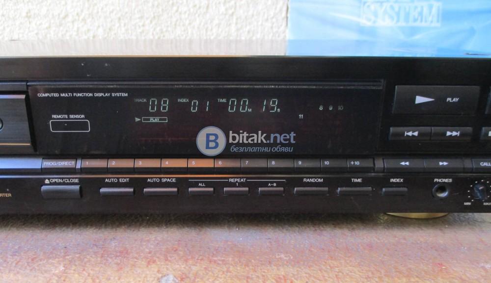 DENON DCD-910 – Добре звучащ,тежък и стабилен плейър. Чете бързо и стабилно всякакви CD-r и матричн