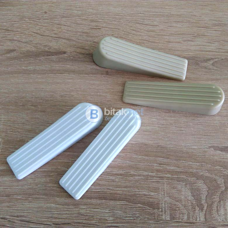 Гумен стопер за врата комплект от два броя стопери за врата