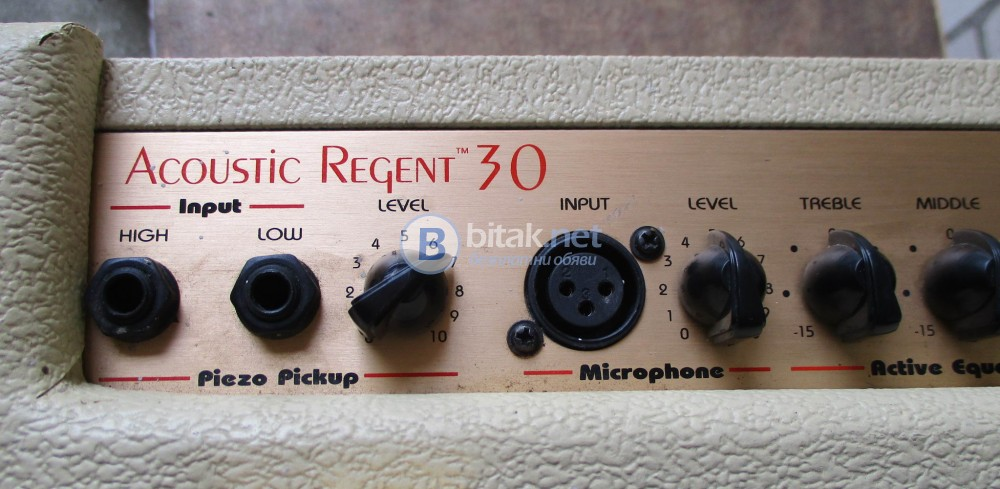 EPIPHONE ACOUSTIC REGENT-30 – Акустичен усилвател за китара с микроонен вход.