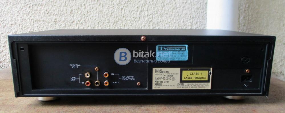 MARANTZ CD-52 – Качествен нискобюджетен плейър.