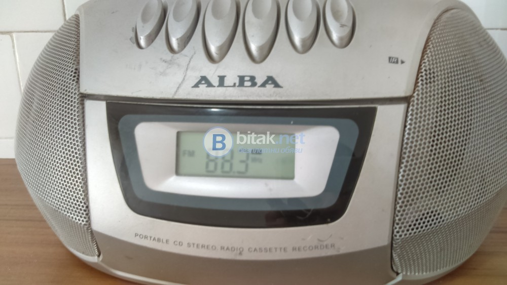 Радиокасетофон Аlba