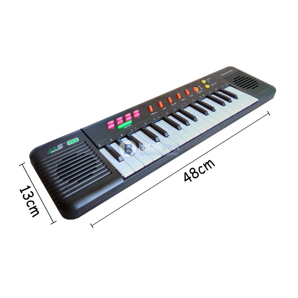 Детска музикална играчка йоника с микрофон 32 клавиша
