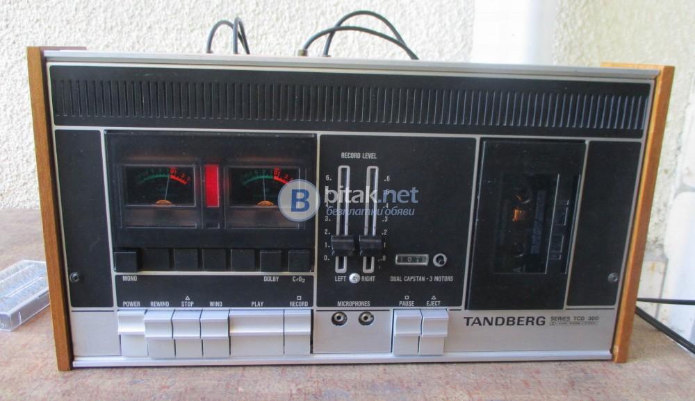 TANDBERG TCD-300 – Масивна и качествена норвежка класика.