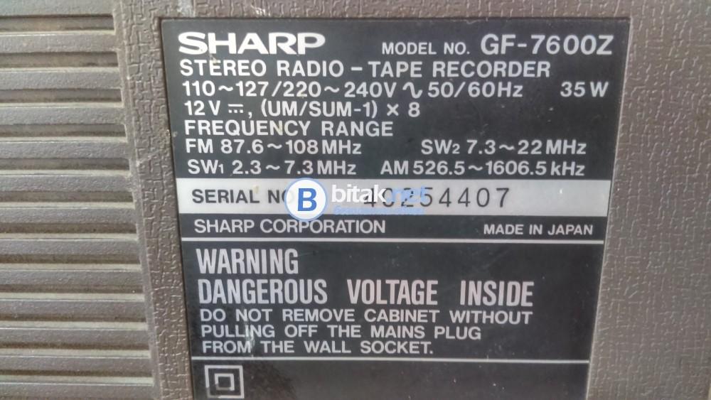 Радиокасетофон Sharp
