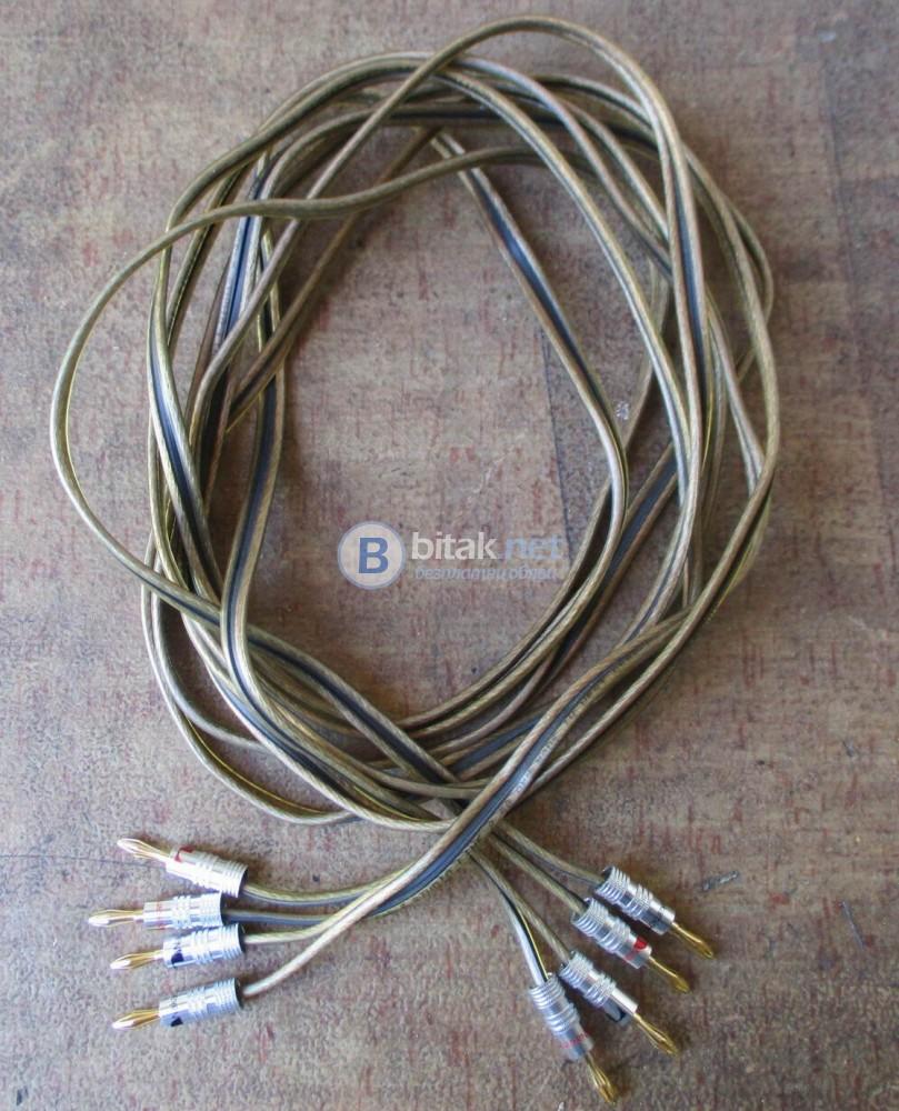 MONITOR Power Cable – Германски спикър кабел 2Х2.5 мм.