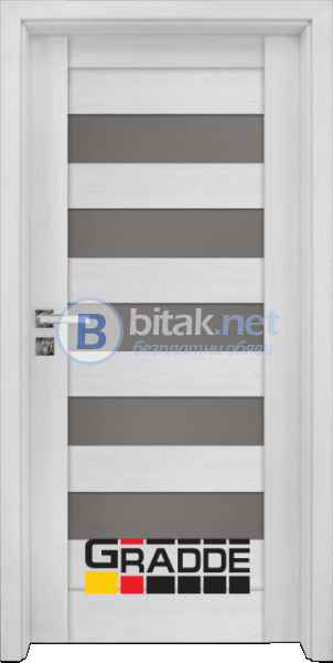 Интериорна врата Gradde Aaven Glas, Сибирска Лиственица