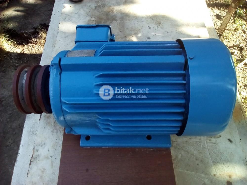 Български трифазен асихронен електродвигател
