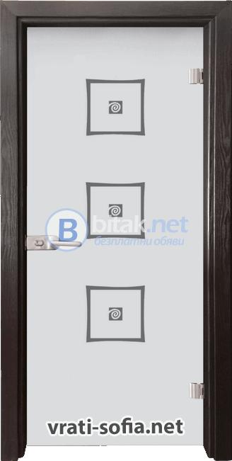 Стъклена интериорна врата Sand G 14-3