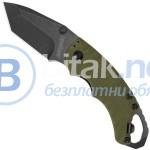 Сгъваем нож от стомана със заключване