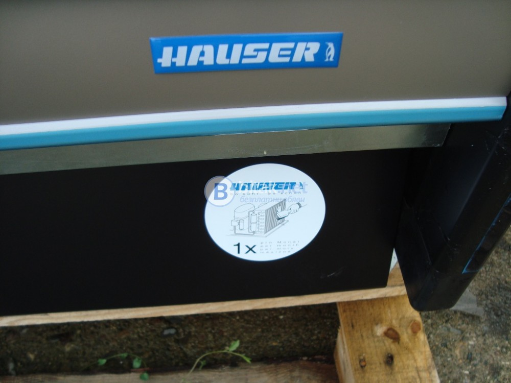 нова крайстенна хладилна витрини Hauser - плюсова