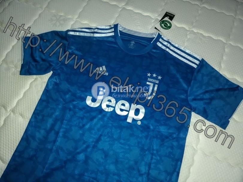 Ювентус гостуваща синя тениска НОВА 2019/20