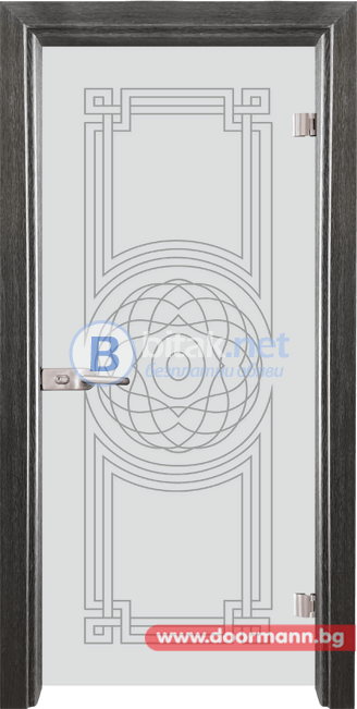 Стъклена врата модел Sand 14-8