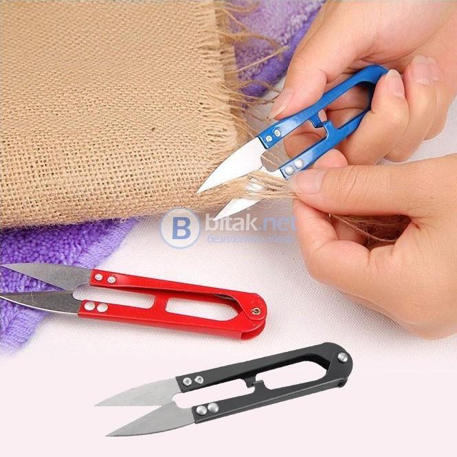 Метална шивашка ножичка за почистване клъцки кръцки ножички