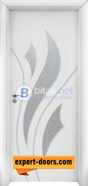 Интериорна врата модел 033, цвят Бял
