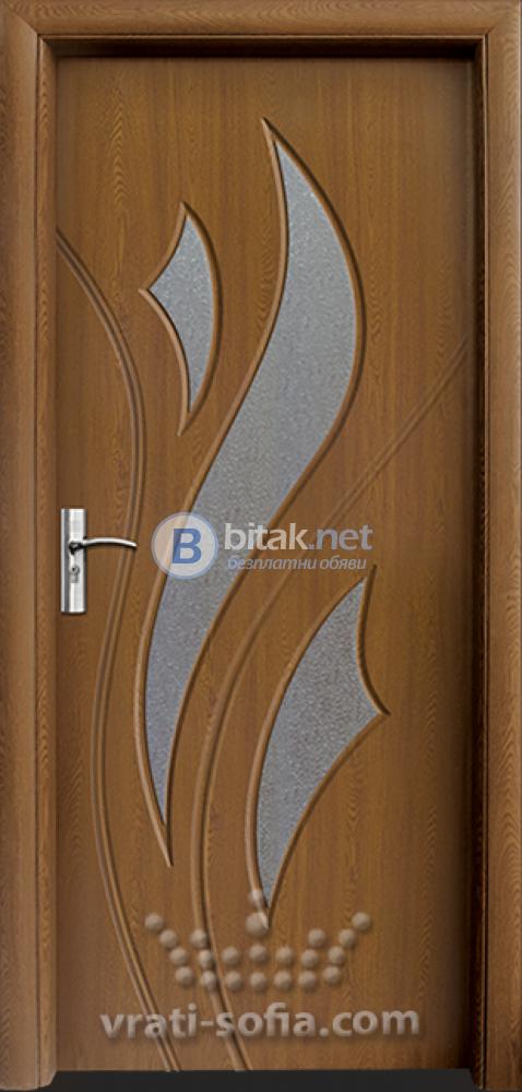 Интериорна HDF врата с код 033