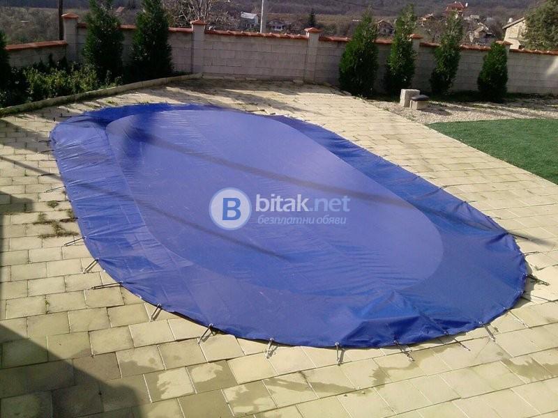 Строителство на монолитни басейни, доставка и монтаж на готови басейни