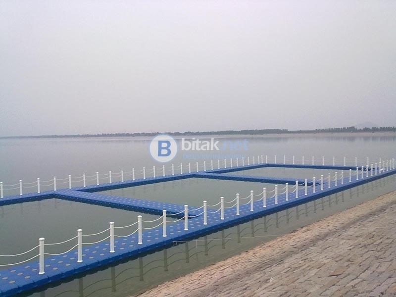 Изграждане и доставка на плаващи, модулни конструкции от понтони
