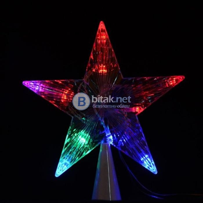 Коледна звезда за елха