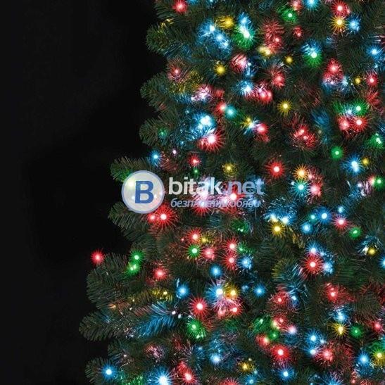 Коледни светещи лампички