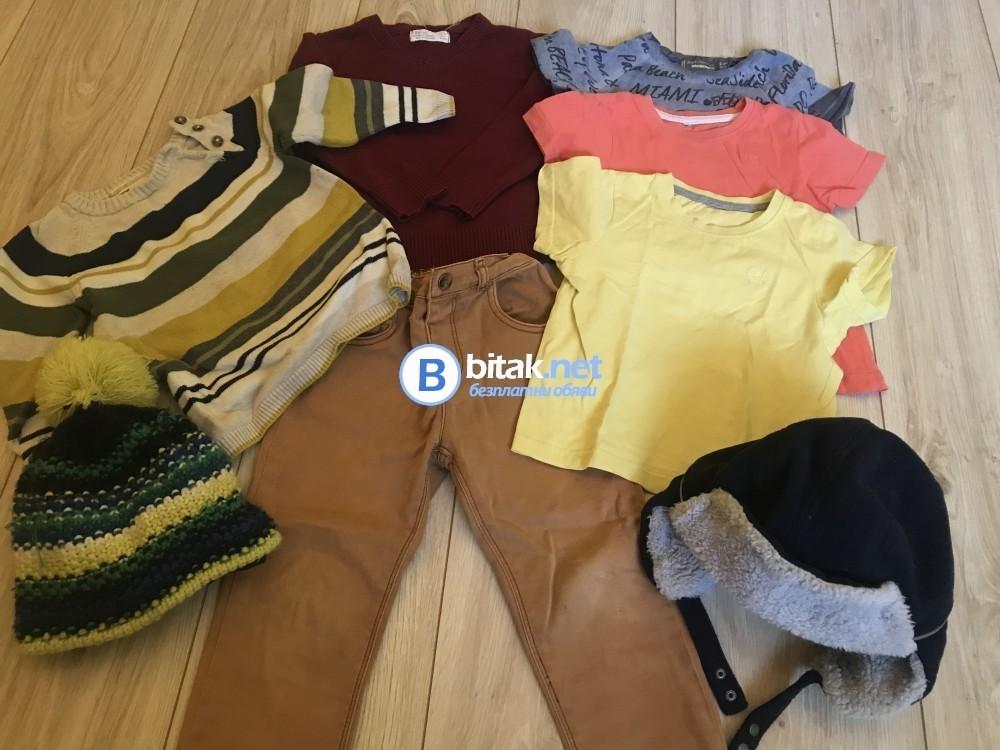 Пуловери,тениски и дънки за 2-3 годишно момче