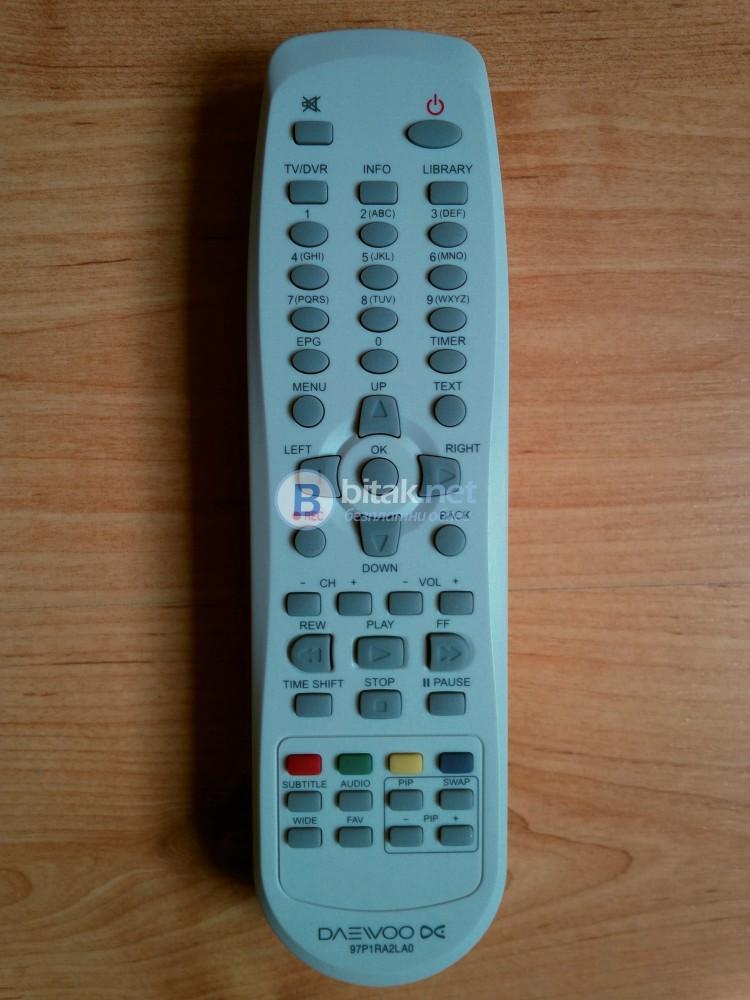 DAEWOO – чисто ново дистанционно за ТВ/DVD/DVR