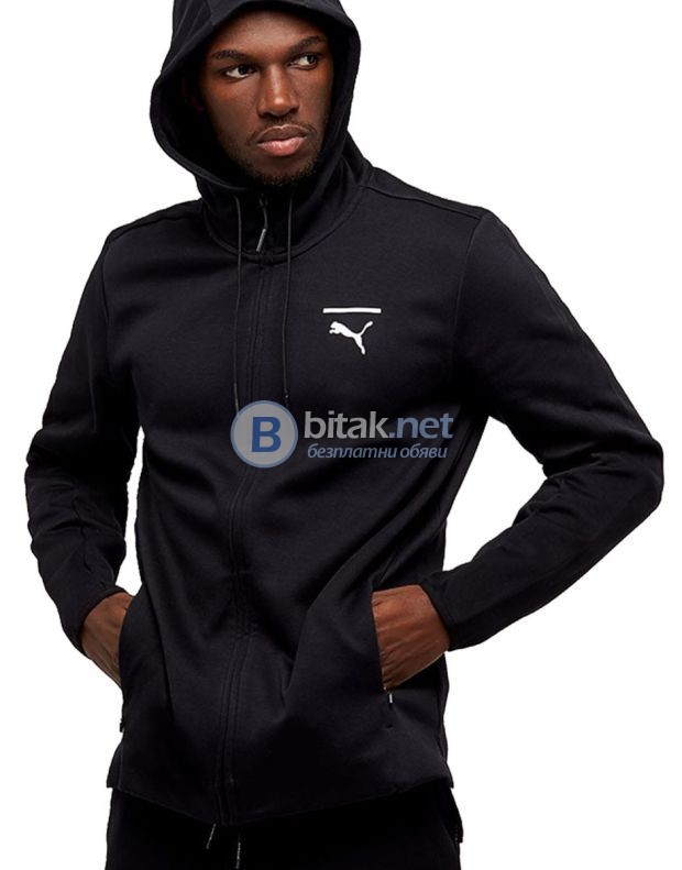PUMA Evolution Core Full Zip Hoodie МЪЖКО ГОРНИЩЕ