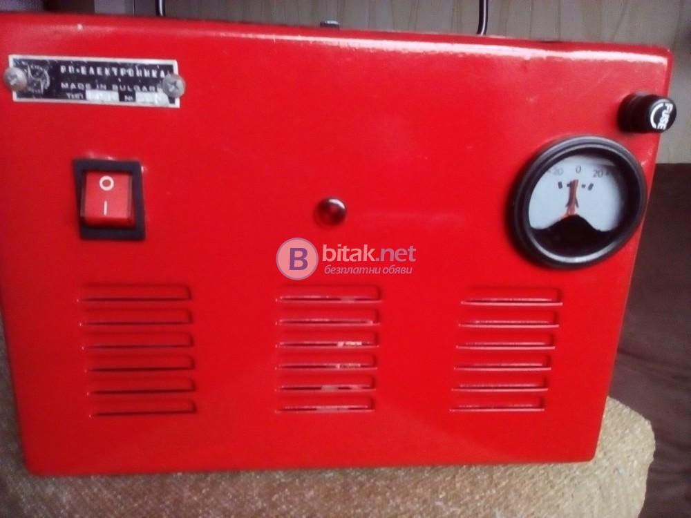 Българско зарядно устройство за автомобилни акумулатори на 12 волта