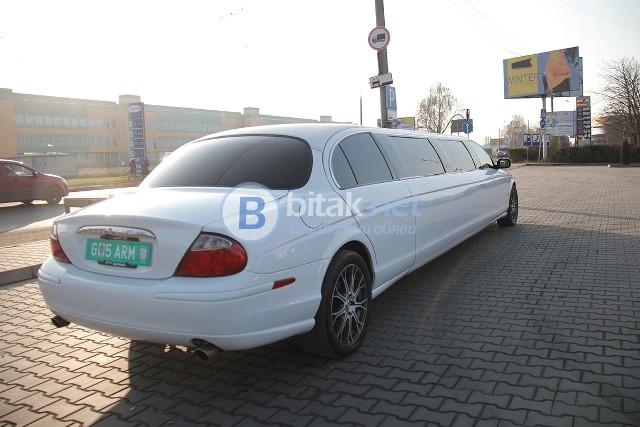 Jaguar лимузина под наем
