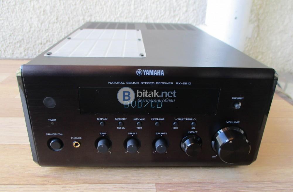YAMAHA RX-E810 – Качествен стерео ресивър,мини формат.
