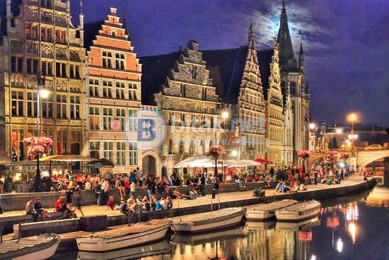 Лондон - Холандия - Белгия с кацане в Лондон и автобус до София