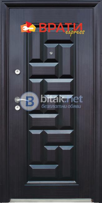 Метална входна врата модел 602