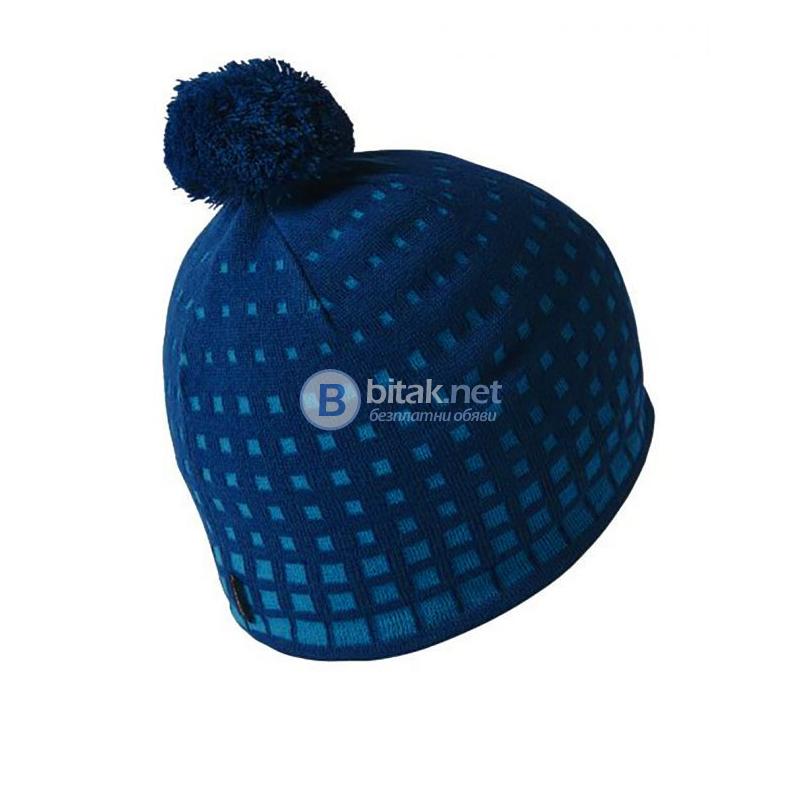 ADIDAS Olimpic Beanie Dark Blue ЗИМНА ШАПКА