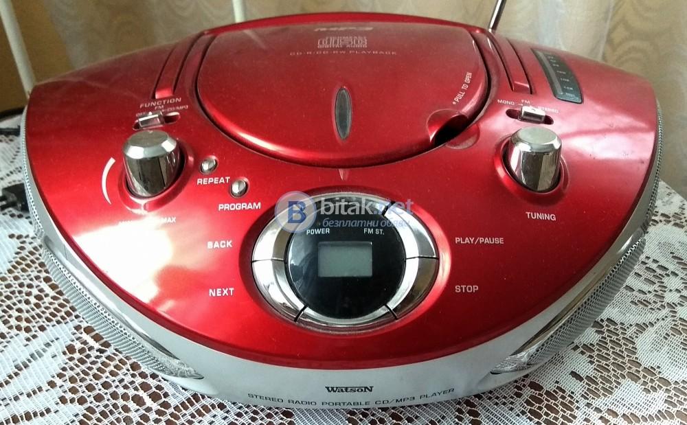 Watson , радио CD/MP3 система