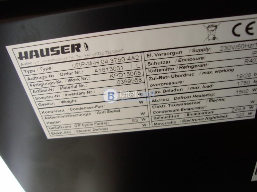 крайстенни хладилни витрини Hauser - плюсови - нови