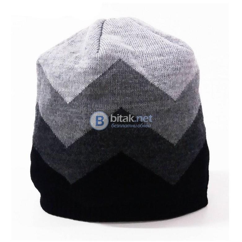 Зимна мъжка шапка спортна шапка за мъже универсален размер