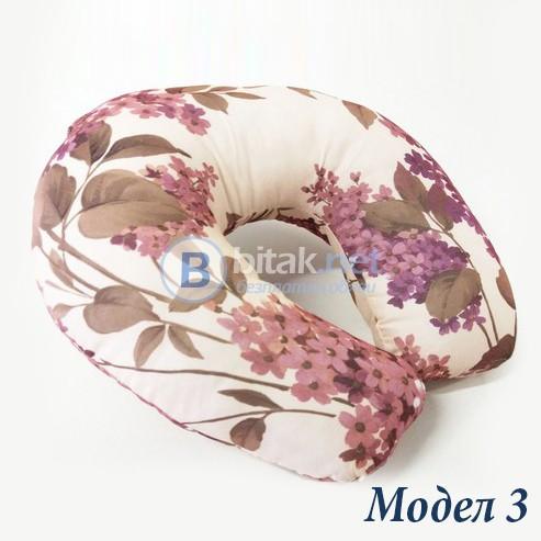 Текстилна възглавничка за пътуване възглавница за път различни модели