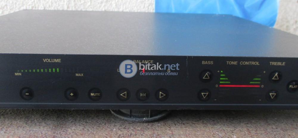 VELLEMAN K4100 – Висококачествен предусилвател с цифрово управление.