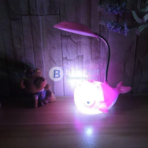 Настолна лампа за бюро компютър с 12 LED светлини детска нощна лампа Д
