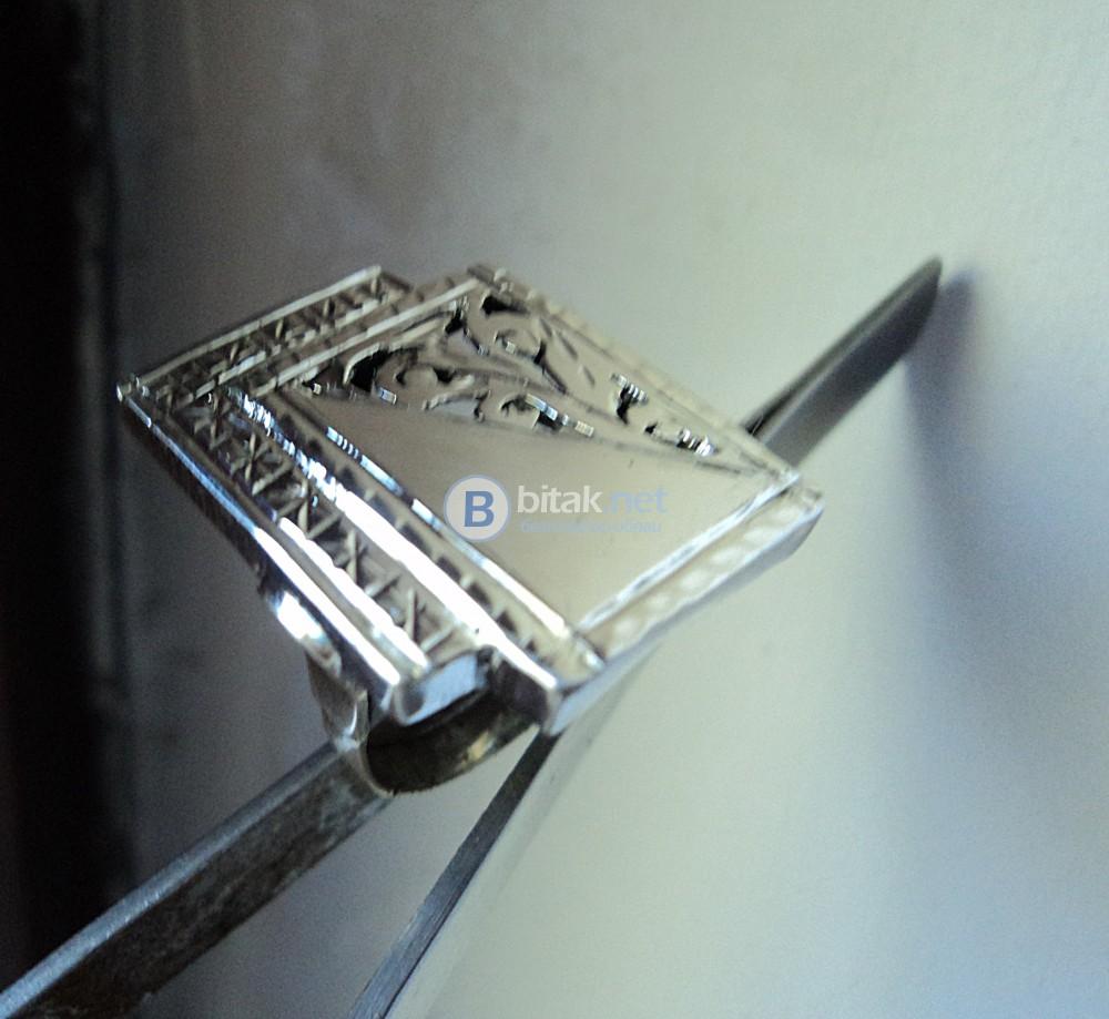 модел 469  Дамски пръстен,с ажур гр