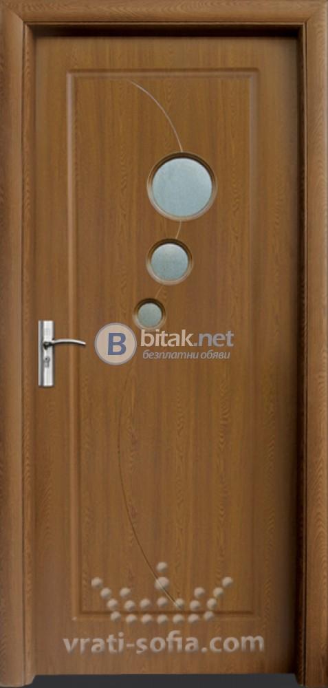 Интериорна HDF врата с код 017