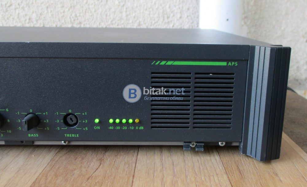 G+M Audio processor system LC-50 – Усилвател за фонова музика.