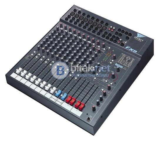 Продавам миксер Soundcraft Spirit FX 8