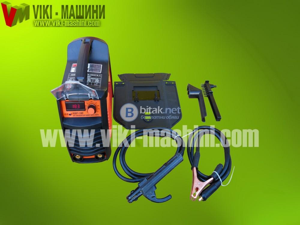 Инверторни електрожени ММА IGBT 180A