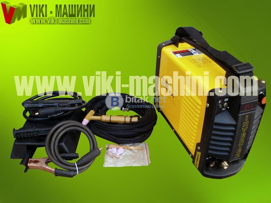 """Инверторни електрожени с функция """"Аргон"""" TIG/MMA 250A"""