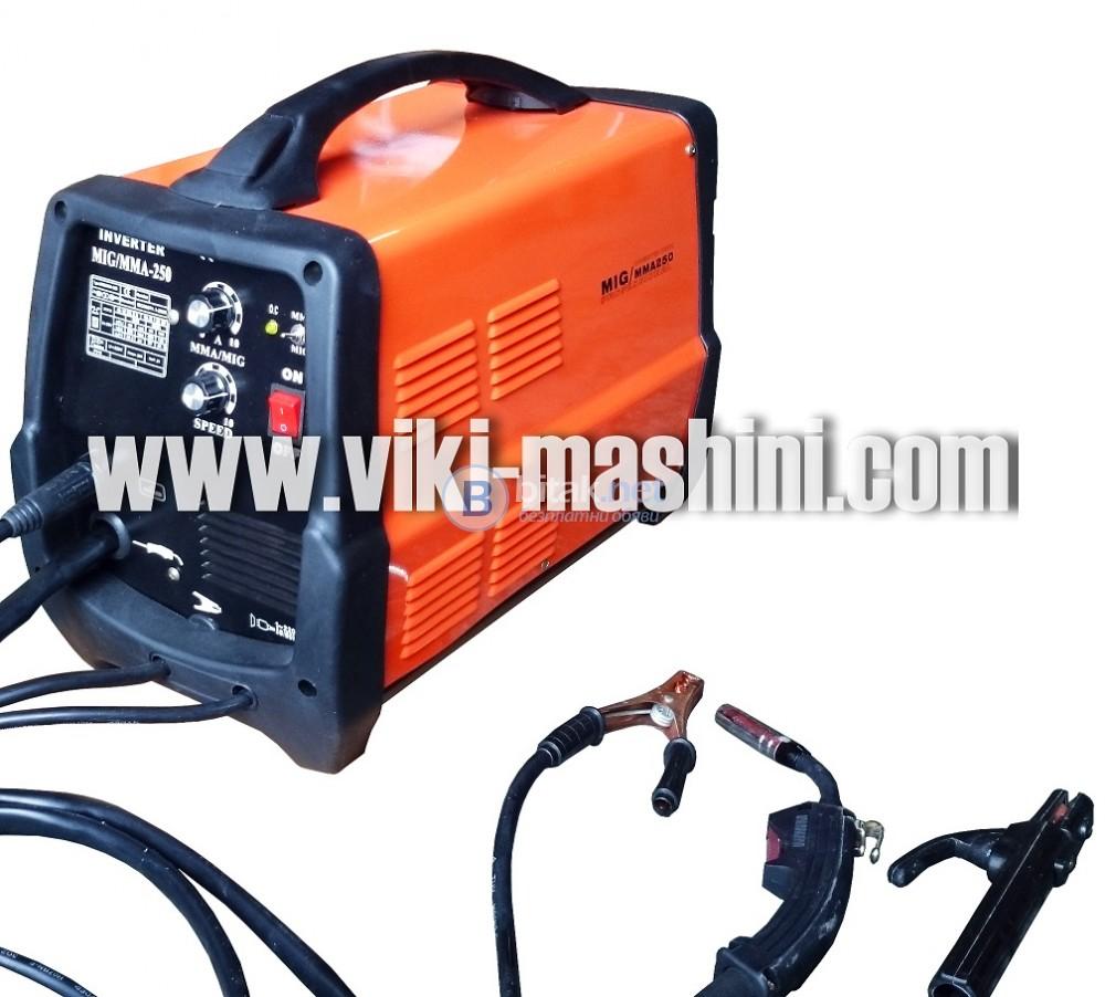MIG/MAG MMA 250A инверторни телоподаващи+електрожени