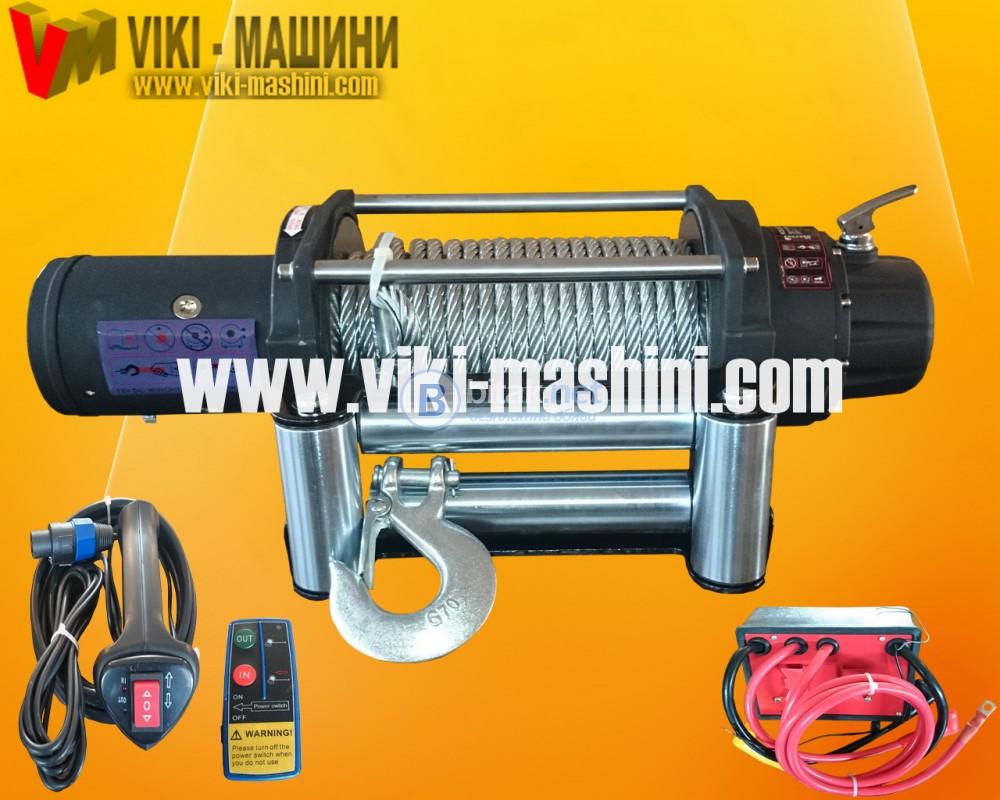 Лебедки за джипове 12V - 5450 кг./12 500 lb winch/ Телфери