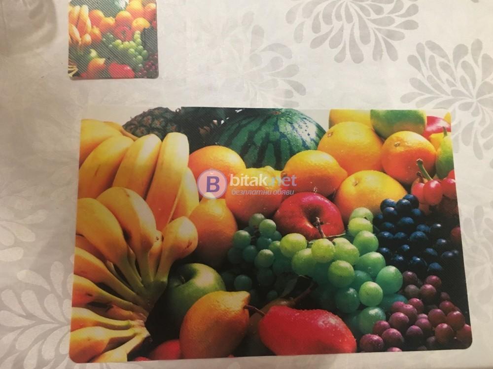 Комплект от 6 броя подложки за хранене